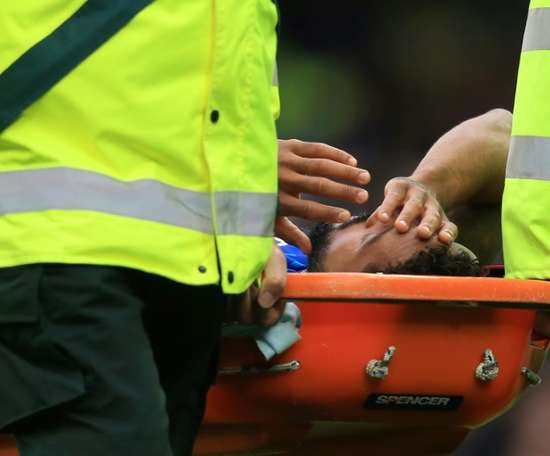 Walcott set for return to training after head injury. AFP