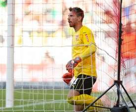 El Stuttgart destituyó a Tayfun el domingo. AFP