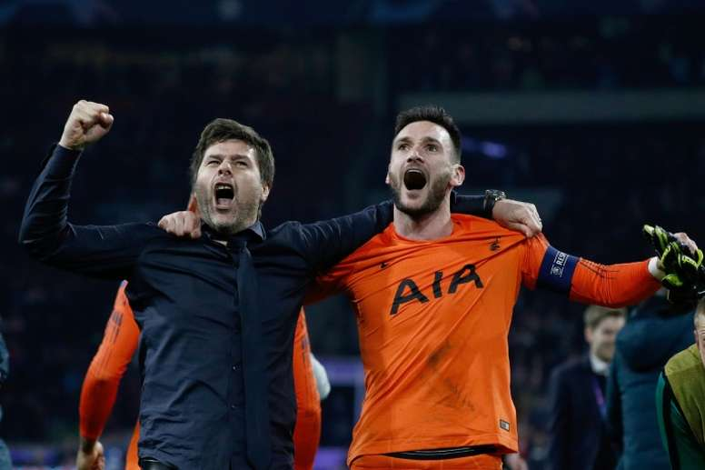 Lloris could be back in January. AFP