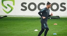 Ronaldo torna alla Continassa. AFP