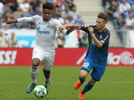 Weston McKennie (left) has earned his first call-up to the senior US national team. AFP