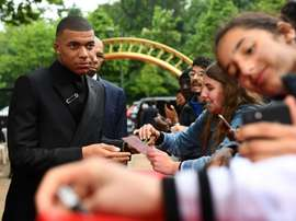 Could Kylian Mbappé really be about to leave PSG? AFP