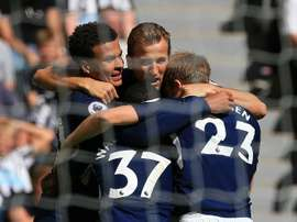 Tottenham won against Newcastle 2-0. AFP