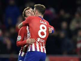 Griezmann put the game to bed with Atletico's second. AFP