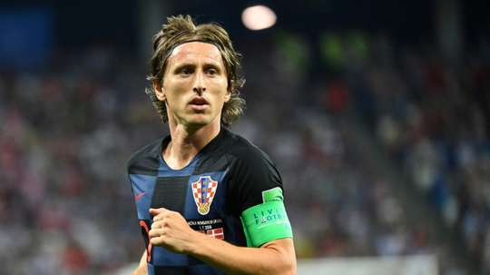 Luka Modric was named player of the tournament after captaining Croatia to the World Cup final. AFP