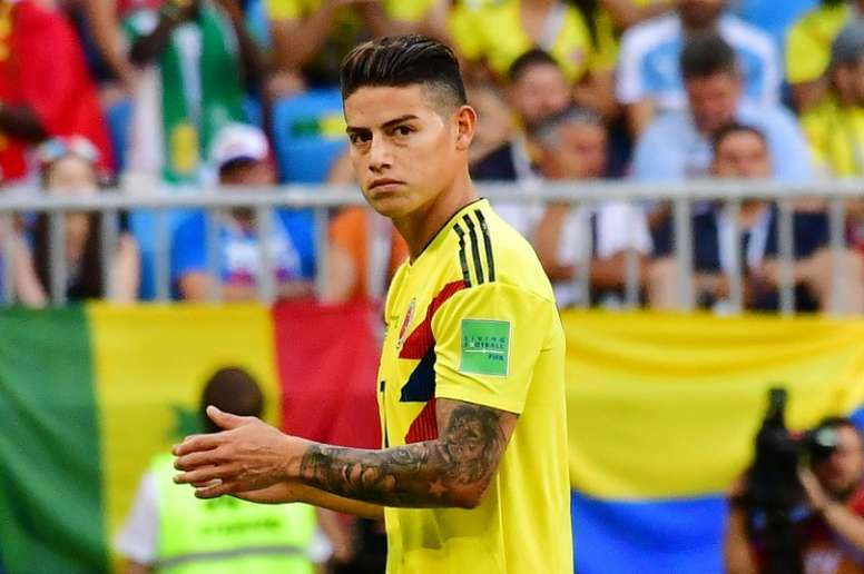 Jorge Mendes chiede un favore al Real per James. AFP