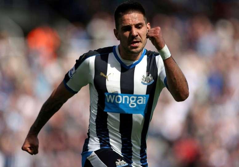 The striker impressed at Craven Cottage last season. AFP