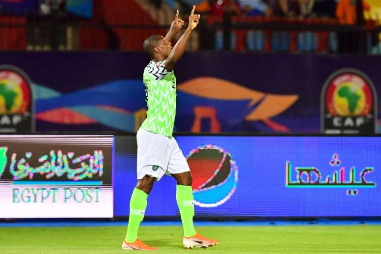 Odion Ighalo has been ordered to stay away from Man Utd's training ground. AFP