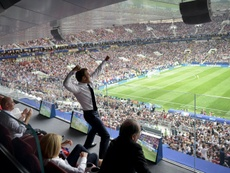 France and Croatia played in front of an incredibly large TV audience. AFP