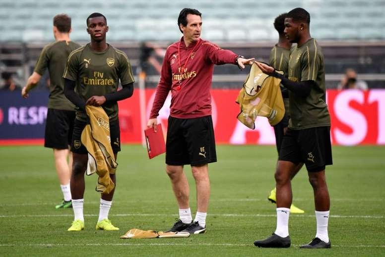 Arsenal a posé un ultimatum à Emery. AFP
