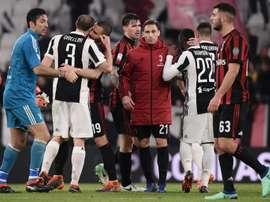 Juventus took advantage of Napoli's slip-up. AFP