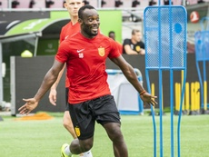 Essien has moved to Denmark. AFP