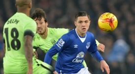 Besic rechazó marchar a la Liga Portuguesa en verano. AFP
