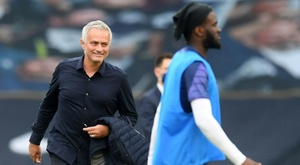 Mourinho targets third Europa League title with Spurs next season. AFP