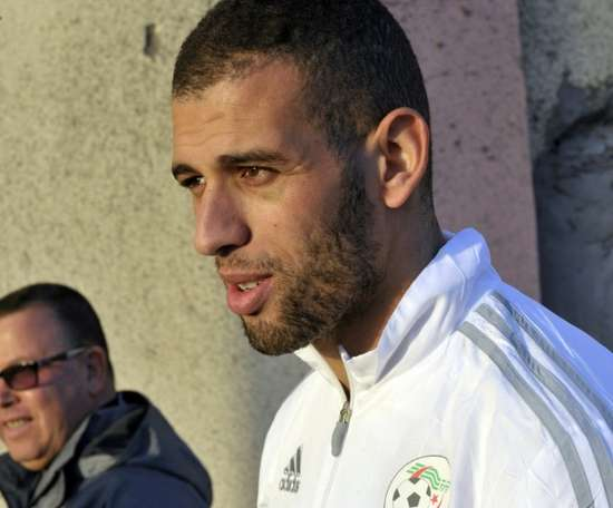 Islam Slimani could stay in Turkey or return to England. AFP