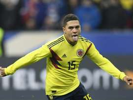 Quintero needed just two minutes to score the winning goal. AFP