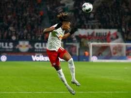 La tornade Nkunku s'abat sur Schalke. AFP