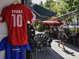 Kosovans will be cheering on Switzerland. AFP
