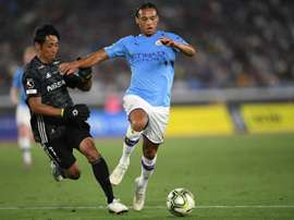 Leroy Sane could finally leave Man City. AFP