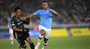 Leroy Sane could finally leave Man City. AFP