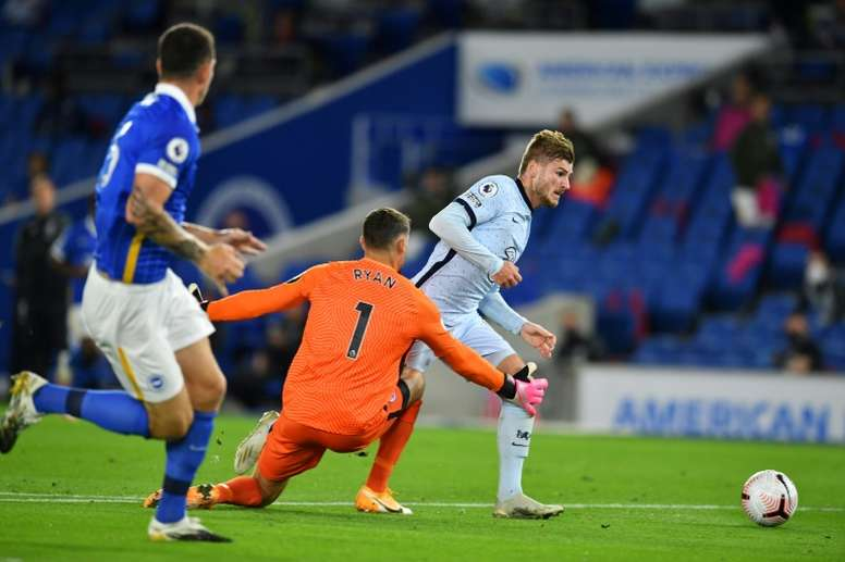 Chelsea's Werner expects to be fit in time for Liverpool clash. AFP