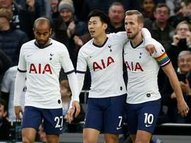Son scores stunner as Spurs crush Burnley. AFP