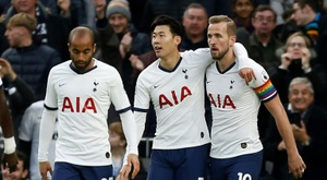 Son scores stunner as Spurs crush Burnley. AFP
