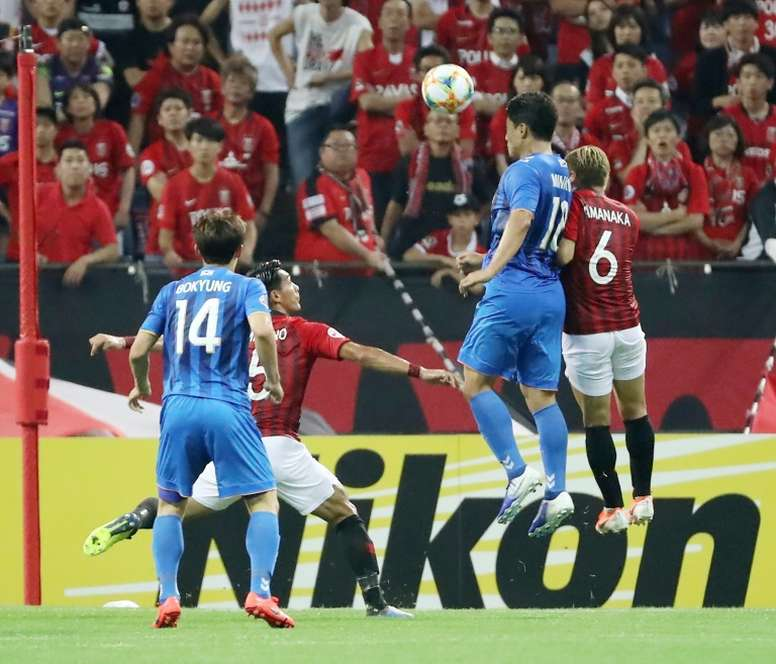 Urawa Reds stunned by Hwang's late Ulsan winner in AFC knockouts. AFP