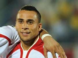 Tunisian player Anis Ben Hatira. AFP