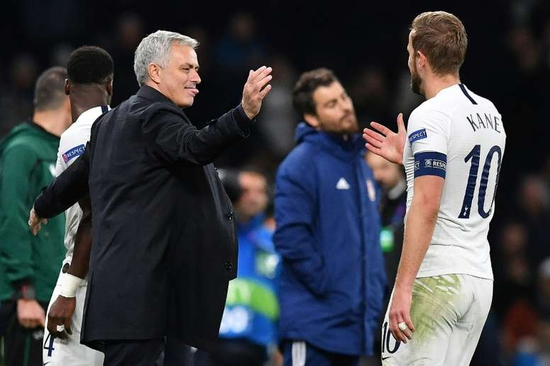 Les joueurs de Tottenham déjà lassés de Mourinho. AFP