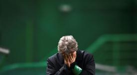 Jorge Jesus foi descartado pelo Sevilha. AFP
