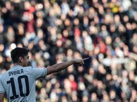 United mostra-se interessado em Dybala. AFP