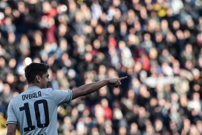 Juventus estuda vender Dybala para contratar João Félix. AFP