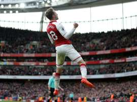 Arsenal's Aaron Ramsey. AFP
