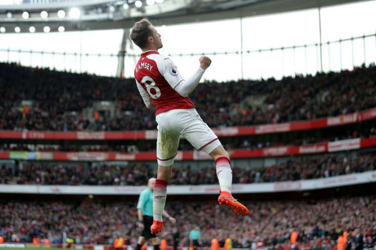 Ramsey has reportedly decided to join Juventus. AFP