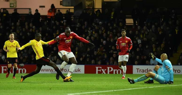 United ran out 4-2 winners at Vicarage Road back in November. AFP
