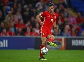 Ryan Giggs convocó a Bale. AFP