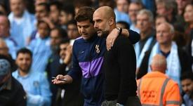Pochettino está en la lista para suceder a Guardiola si se marcha. AFP