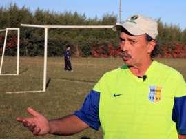 Ernesto Vecchio, former coach of Argentine football star Lionel Messi.
