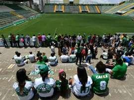 Nuevo refuerzo para Chapecoense. AFP