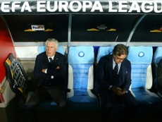 Napoli coach Carlo Ancelotti. AFP