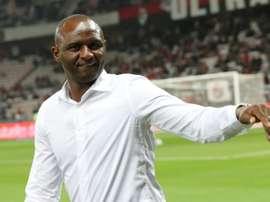 Vieira has struggled at the start of his Nice career. AFP