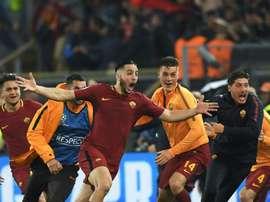 Inacreditável! Roma humilha Barça e está na semi. AFP