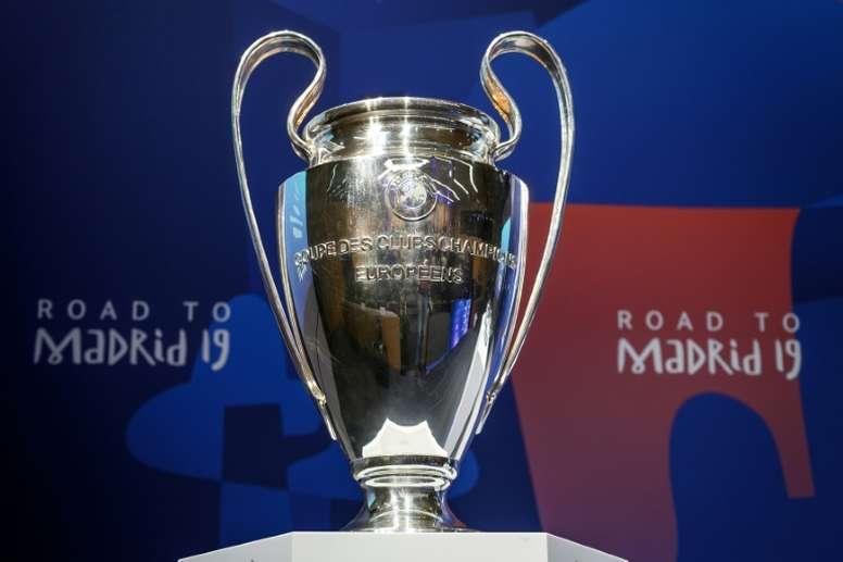 Sorteo de la fase de grupos de la Champions 2019-20. AFP