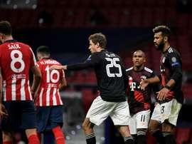 Atletico drew 1-1. AFP