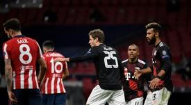 La debacle comenzó con la lesión de Giménez. AFP