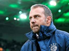 The next two matches will determine Flick's future at Bayern. AFP