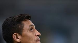 Alexis está em excelente forma. AFP