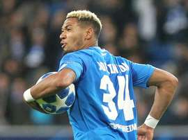 Joelinton struck at the death to snatch Hoffenheim a thrilling draw. AFP