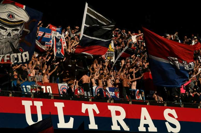 PSG have asked for the continued support of their fans. AFP